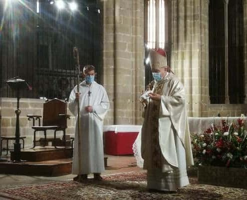 El Sr. Bisbe celebrà a la Catedral la Missa del dia de Nadal
